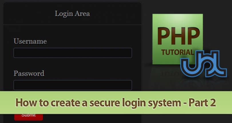 CREATE A SECURE LOGIN SYSTEM IN PHP - PART 2
