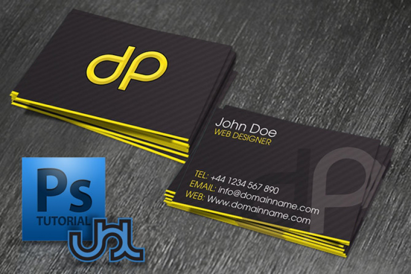 Design a print ready business card in photoshop reheart Images