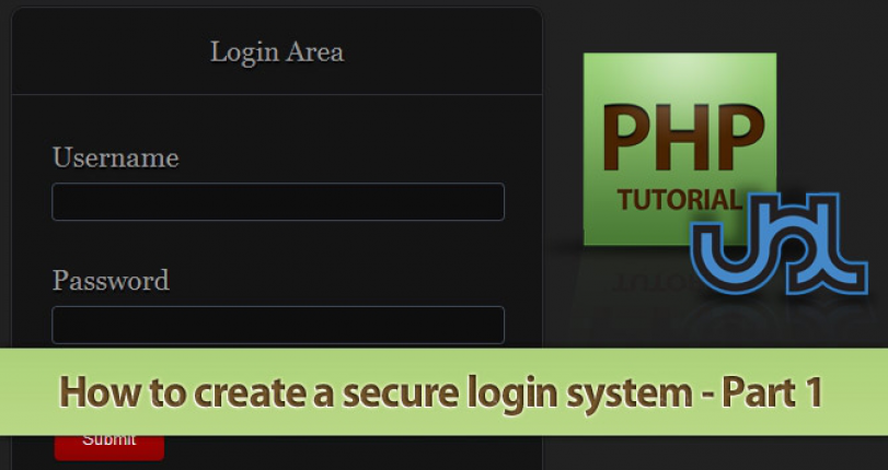 CREATE A SECURE LOGIN SYSTEM IN PHP - PART 1